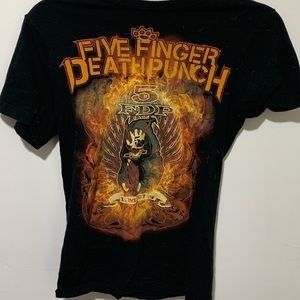 Five Finger Death Punch Tee